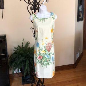 J. McLaughlin floral print dress